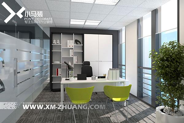 办公室装修实景图是怎样的?分享6张经理办公室装修实景图