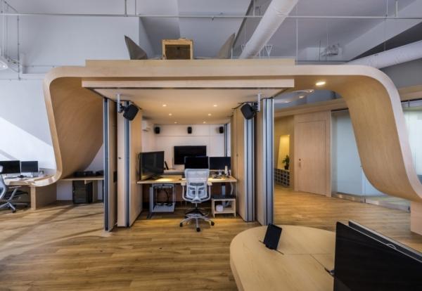 办公空间:学习办公室装修之国外设计作品