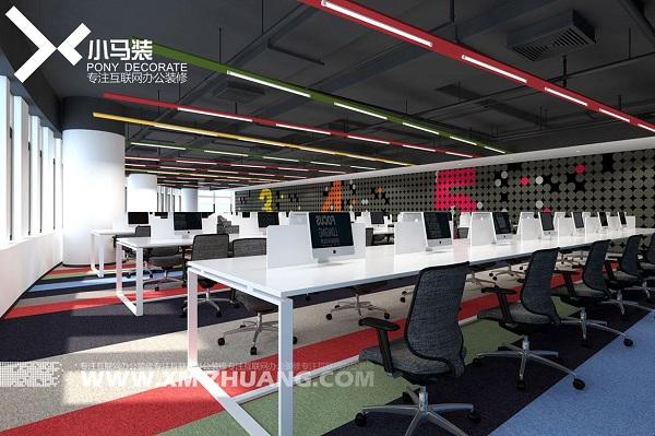 小马装:开敞式办公空间的特点与装修