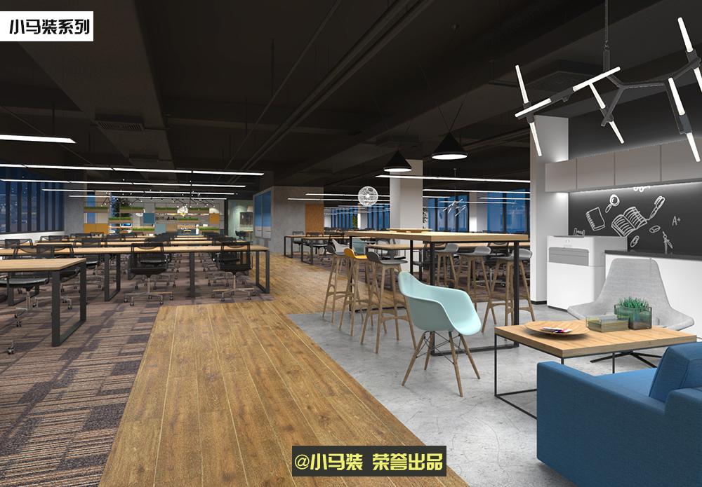 小马装:分享上海敞开式办公室装修电话