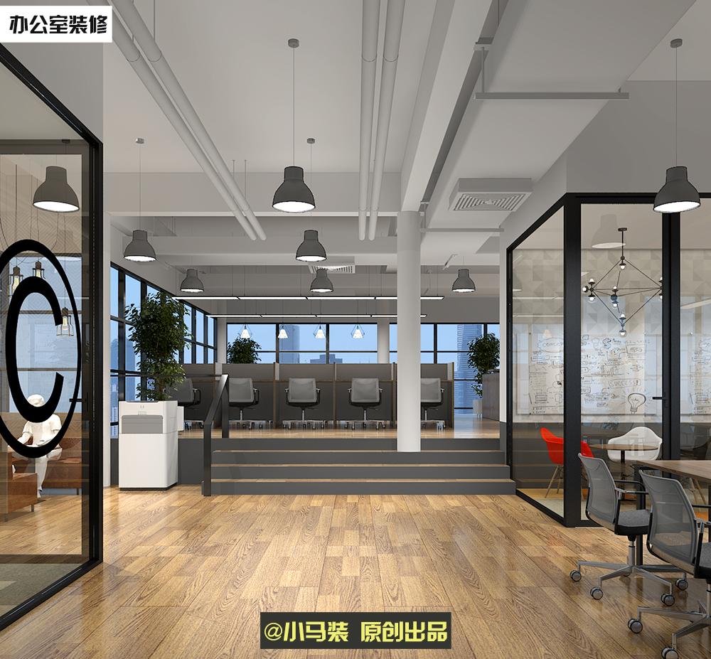 小马装:一千平办公室如何进行设计和装修?