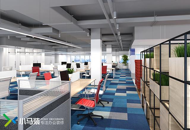 小马装-原创办公室装修设计项目案例