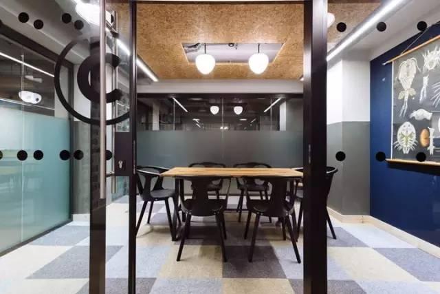 轻松惬意 伦敦soho区WeWork联合办公设计欣赏