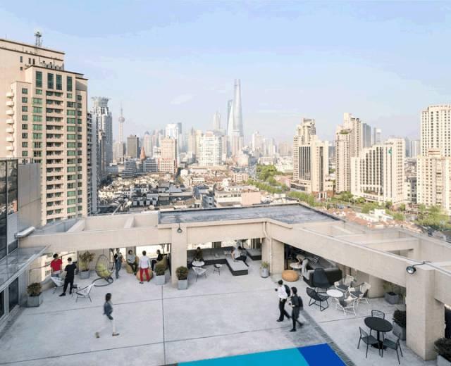 经典与现代的碰撞 联合办公WeWork上海云南路空间设计欣赏