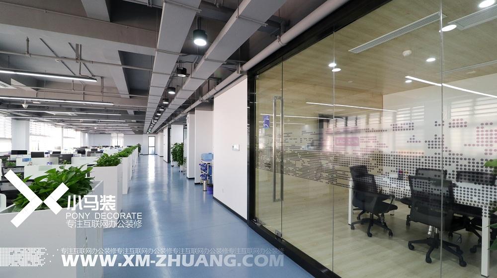 宝尊集团龙软大厦办公室装修项目